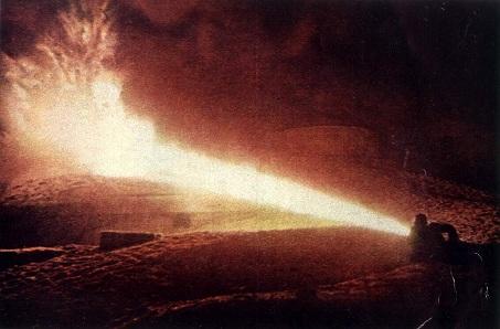 flammekaster til luking